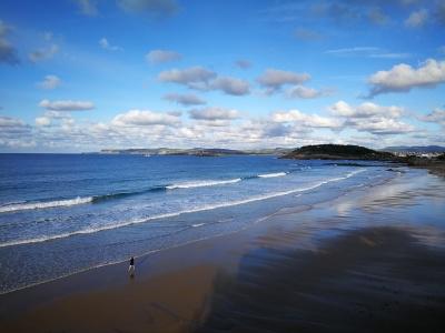 Primera playa del sardinero - Santander